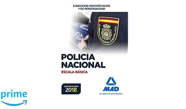 Policía Nacional Escala Básica. Ejercicios psicotécnicos y de personalidad: Amazon.es: MANUEL VECINO CASTRO: Libros