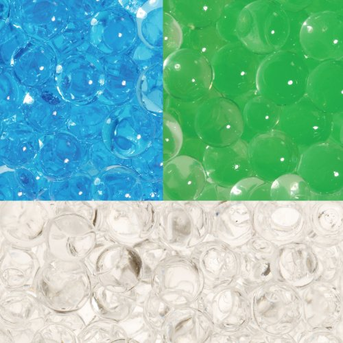 (WeGlow International Liquid Marbles TriColor - 30g Sapphire, Emerald, Daimond (2 Packages Of Each Color) )