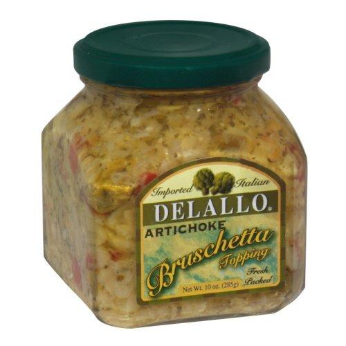 DeLallo Artichoke Bruschetta 10.0 OZ (Pack of ()