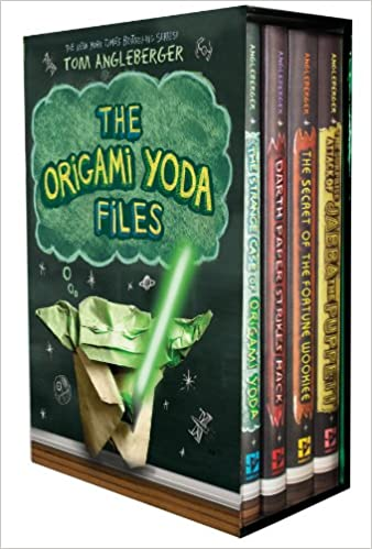 Amazon The Origami Yoda Files Boxed Set 9781419711312 Tom