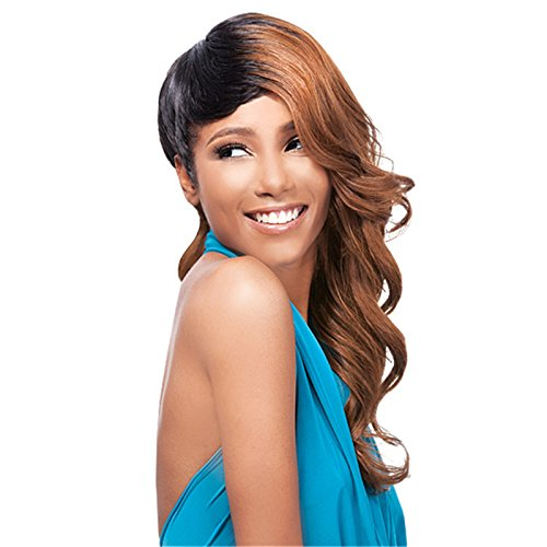 Premium wigs liap Curly wig European wigs high temperature wire fashion-Brown wavy long hair - Naples In Stores Fl