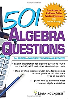 Amazon 501 math word problems 501 series 9781576855638 501 algebra questions 501 series fandeluxe Choice Image