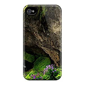Awesome CvNngcp6451FHxnQ StellasKeller Defender Tpu Hard Case Cover For Iphone 4/4s- Gorgeous Waterfalls Over A Cliff