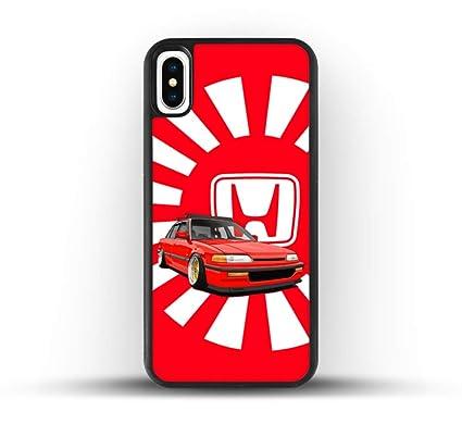 new concept b5be5 bae54 Amazon.com: JDM Honda Civic Phone Case (iPhone X Max): Electronics