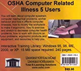 OSHA Computer Related Illness, 5 Users, Farb, Daniel and Gordon, Bruce, 1594911584