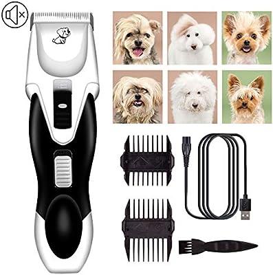 YOYT Afeitadora para Perros Mascotas para Perros Empuje eléctrico ...