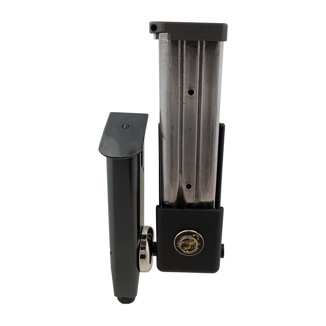 Black Scorpion Outdoor Gear USPSA Thunderbolt Pistol Magazine Pouches Combo, Black, by Black Scorpion Outdoor Gear (Image #5)
