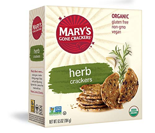 Mary's Gone Crackers, Herb, 6.5 Ounce