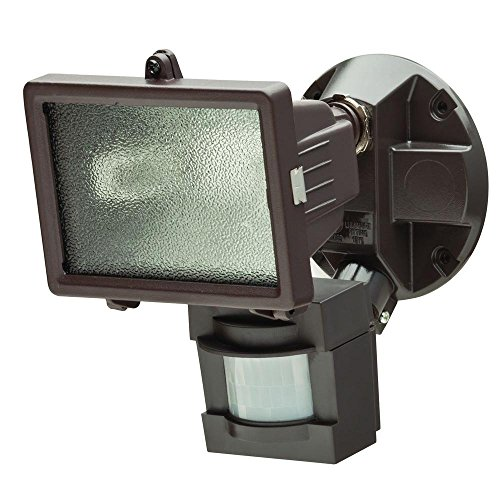 110 Degree Outdoor Bronze Motion Security Light