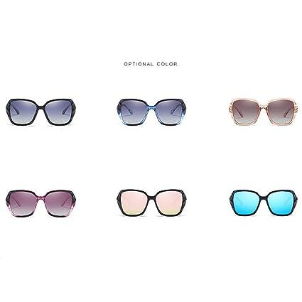 d14c720bd2 Amazon.com  HONGLIAN New Ladies Sunglasses Europe and The United States  High-end Sunglasses Polarized Lenses UV Sunglasses Outdoor Sports (Color    1)  ...