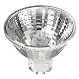 EYE 73553 - 50 Watt Halogen Light Bulb - MR16 - EXN Flood - Glass Face - 5,000 Life Hours - 1,600 Candlepower - 12 Volt