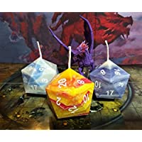 Spell Series Collection 1 (All Three Spell Series Natural D20 Candles)
