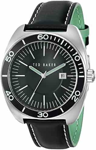 24bf0877a Ted Baker Men s 10024731 Sport Analog Display Japanese Quartz Black Watch