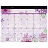 at-A-Glance SK38-704-18 Monthly Desk Pad Calendar, January 2019 - December 2019, 21-3/4'' x 17'', Beautiful Day (SK38-704)