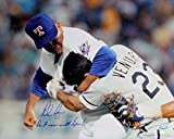 Nolan Ryan Signed Autographed Texans Rangers 16x20 Photo Inscribed Don't Mess with Texas TRISTAR COA