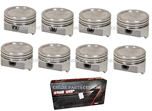 - Sealed Power Federal Mogul Chevy 400 Cast Dish Top Pistons +.030