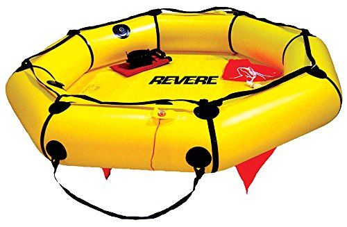 Revere Coastal Compact 4 Person Valise Life Raft