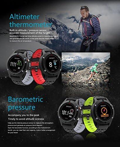 NO.1 F5 inteligente reloj IP67 a prueba de agua del ritmo cardíaco ...