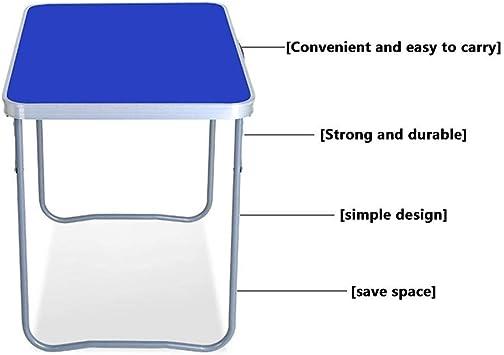 Tavolo pieghevole tavolo plastica con nero strech Copertura Tavolo da giardino campeggio tavolo stabile