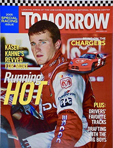 2005 - Tomorrow Magazine - Kasey Kahne Cover - Dodge for sale  Delivered anywhere in USA