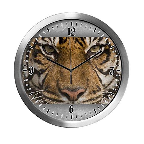 Tigers Wall Clock - Modern Wall Clock Sumatran Tiger Face