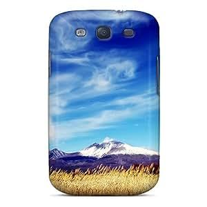 Samsung Galaxy S3 HqR21773orXQ Custom Stylish Snow Covered Mountain Peak Pattern Shock Absorption Hard Phone Covers -WandaDicks