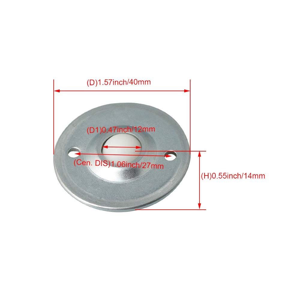 VXB Brand Japan MJC-40CS-EWH 15mm to 20mm Jaw-Type Flexible Coupling Coupling Bore 2 Diameter:20mm Coupling Length 66 Coupling Outer Diameter:40