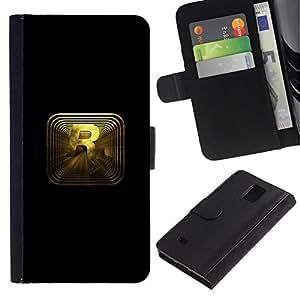 All Phone Most Case / Oferta Especial Cáscara Funda de cuero Monedero Cubierta de proteccion Caso / Wallet Case for Samsung Galaxy Note 4 IV // R R0Ckstar Gaming