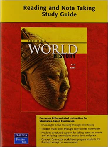 Workbook differentiated instruction worksheets : Amazon.com: WORLD HISTORY READING AND NOTETAKING STUDY GUIDE ...