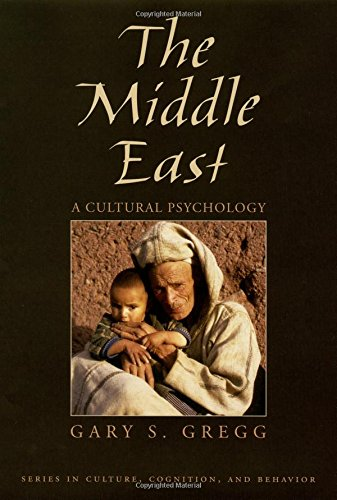 The Middle East: A Cultural Psychology (Culture, Cognition, and Behavior)