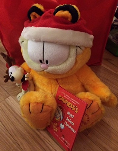 Anniversary Ltd Ed - Garfield 25th Anniversary Limited Ed. Macy's Christmas Plush