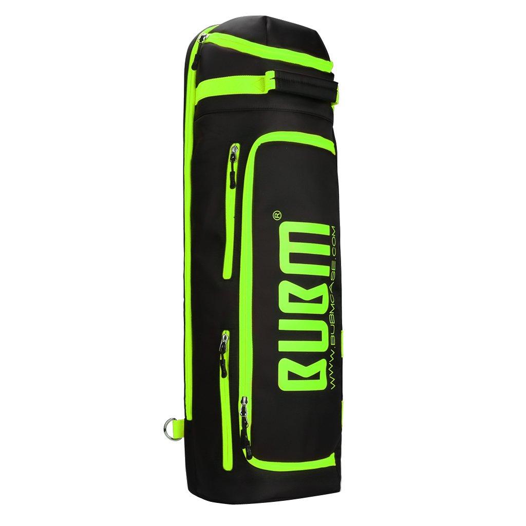 MagiDeal Badmintontasche Schlägertasche Sporttasche für 3 Schläger Schuhe Kleidung und Trinkflasche