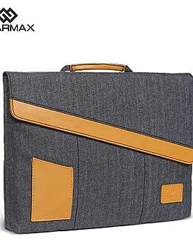 komn 0.5 portant lention piel auténtica antigolpes antiarañazos delgado bolsa de ordenador portátil caso para MacBook Air 11/12 pulgadas - .