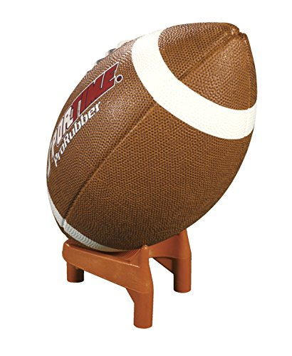 "School Specialty KT2 Football Kickoff Tee, Molded Rubber, 2"" Size, Orange"