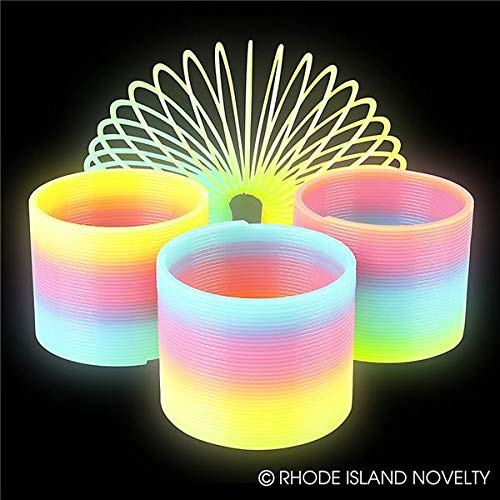 Rhode Island Novelty 3'' Glow in Dark Magic Spring   One Spring  