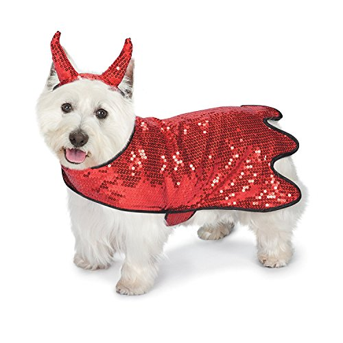 Zack & Zoey Sequin Devil Dog Costume, 24