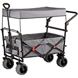 VEDES Großhandel - Ware 0071301389 Nein OA Bollerwagen mit Dach mit Griff, faltbar Spielzeug