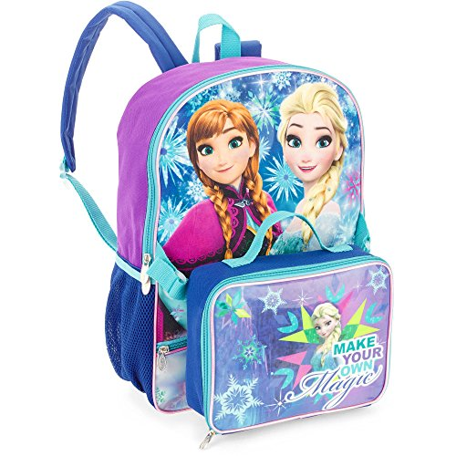 Disney's Frozen Backpack with Detachable Insulated Lunchbox Bag