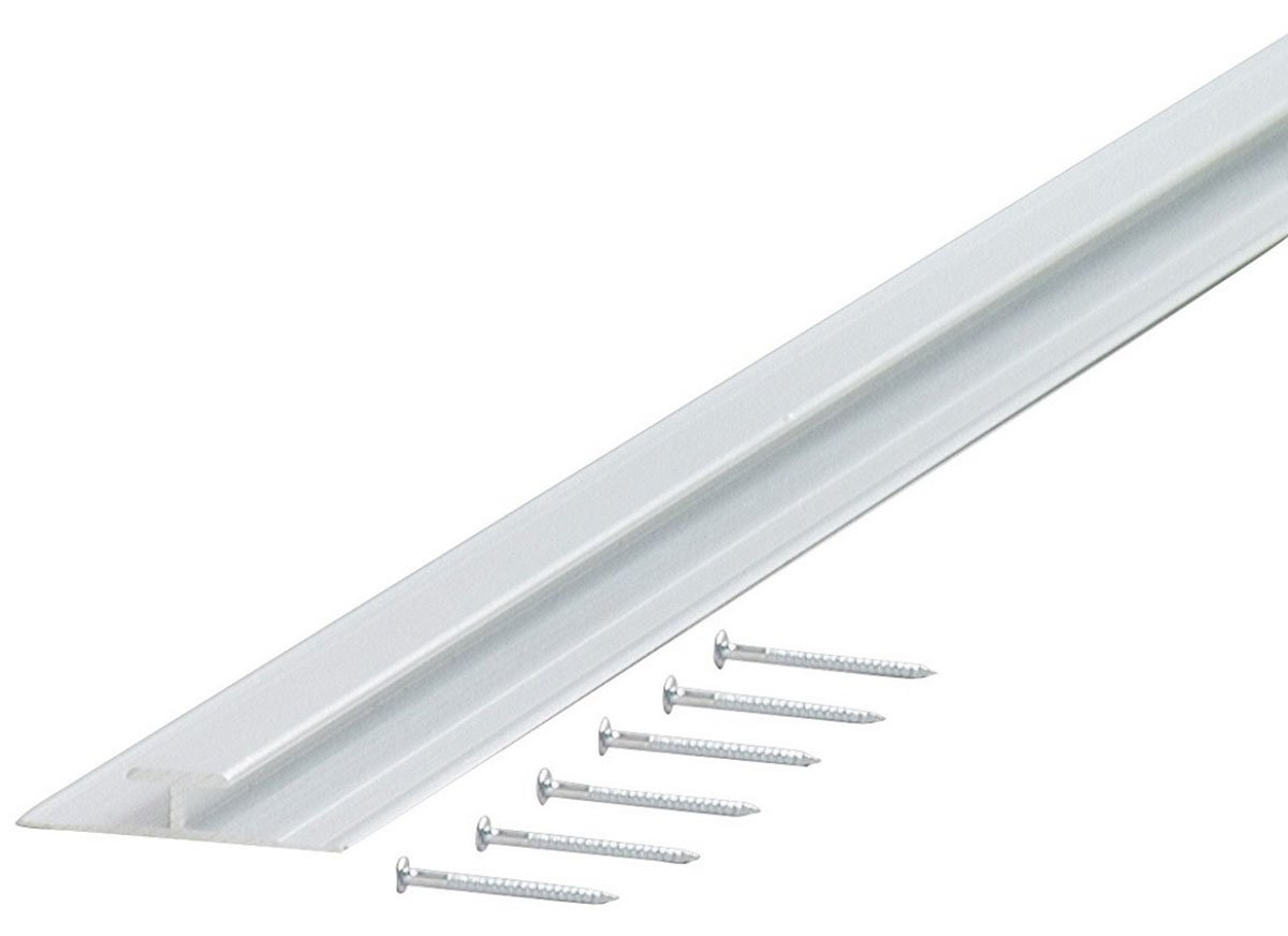 M-D Building Products 67167 Divider A442-96-Inch Aluminum Moulding, Mill