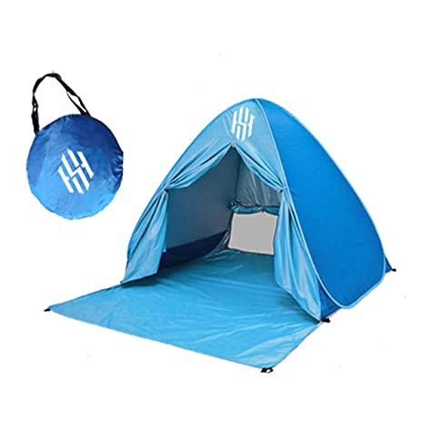 Pop Up Beach Tent u2013 Portable Backyard Swimming or C&ing Outdoor Sun Shelter u2013 UV  sc 1 st  Amazon.com & Amazon.com: Pop Up Beach Tent u2013 Portable Backyard Swimming or ...