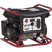 Powermate Portable Propane Generator, 120v, 1500w, Recoil Start