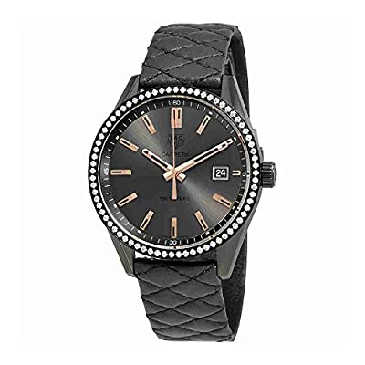 Tag Heuer Carrera Anthracite Dial Ladies Watch WAR1115.FC6392 from Tag Heuer