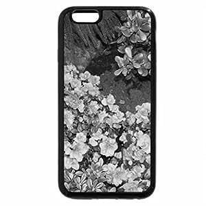 iPhone 6S Case, iPhone 6 Case (Black & White) - Red Azaleas in my garden
