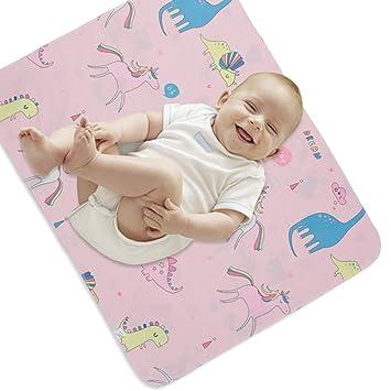 New Soft Padded  Waterproof Baby Changing Mat nappy Change Mats  unicorns