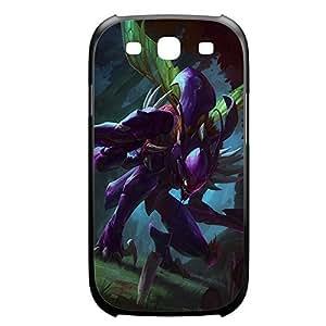 Khazix-001 League of Legends LoL Diy For SamSung Note 4 Case Cover Plastic Black