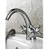 High Quality The Faucet Bathroom Sink Faucets One Hole Traditional Brass Ti-PVD