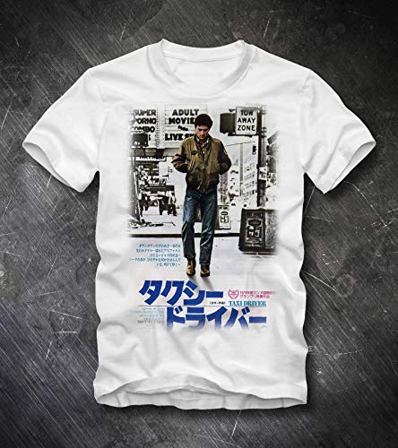 (TAXI DRIVER T Shirt 70s Scorsese Film Japan Movie Poster Retro Vintage Kult Cult Social Justice Rampage Taxi Driver Shirt)