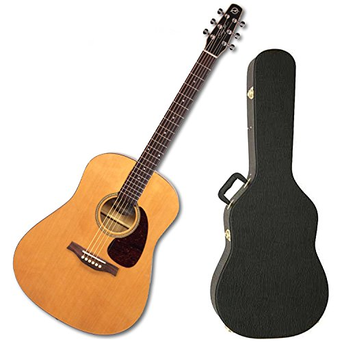 NEW! Seagull 039906 S6 Original with Gloss Top Acoustic Guitar w/ Hard Shell Case
