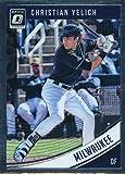 2018 Donruss Optic Baseball #101 Christian Yelich Milwaukee Brewers Trading Card
