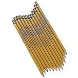 Write Dudes 41209AA-48 USA Gold Premium Cedar No. 2 Pre-Sharpened Pencils, 12-Count (41209)